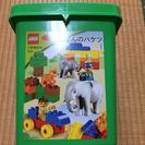 LEGOブロックぞうさんのバケツ