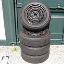 ◆デミオ DE3FS 標準装着タイヤ&ホイール4本セット◆