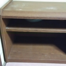 木製の低い台