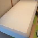 IKEA 脚付マットレス ベッド