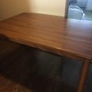 木製のテーブル 取りに来られる方へ