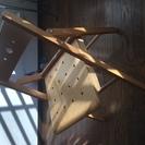木製折り畳み椅子 取りに来られる方へ