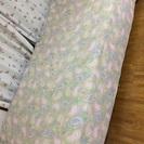 足付きシングルマットレスベッド