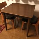 ダイニングテーブル 2人用(テーブルのみ)