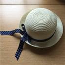 子供 帽子 韓国 М 麦わら帽子