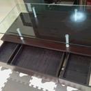 交渉中 ニトリ ガラスセンターテーブル