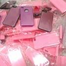 新品 iPhoneケース 大量 デコやプリント素材に最適