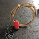 リョービ水中汚水ポンプRSG-150C/土砂や泥などを含んだ水の移動に!
