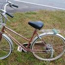 五段変速買い物用自転車