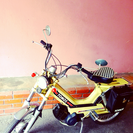 お洒落なクラシックバイク TOMOS