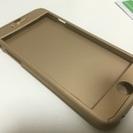 送料無料 iPhone6 フルカバー 強化ガラス付 未使用品