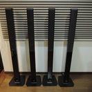 ジャンク品 DENON SC-T7L トールボーイスピーカー 4台セット
