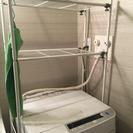 洗濯機の上の棚