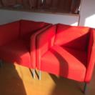 IKEAの1人掛けソファ2脚をお譲り致します。