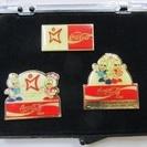 【未使用品】広島アジア大会◆記念ピンバッジ◆コカコーラ◆1994