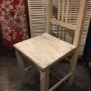 木製手作り椅子