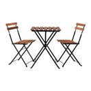 IKEA アウトドアテーブル&椅子2脚セット
