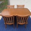 ミキモクのダイニングテーブル椅子セット