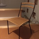 ラタンの椅子