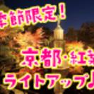 ロマンティック東山♥季節限定!秋深まる紅葉ライトアップde婚活&恋活♪