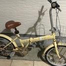☆自転車 おしゃれなイエローカラー☆ 只今メンテナンス中です。
