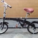 【ほぼ新品】 折りたたみ自転車♪ プレゼントに♪ la cocci...