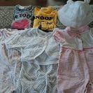 女児服70~80と帽子