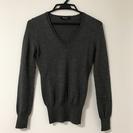 M-premierのシルク混Vネックセーター