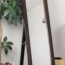 木製フレーム スタンドミラー