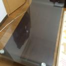 ウッド&ガラス ローテーブル