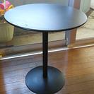 黒 コーナーテーブル