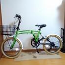 (取引交渉中です) 折り畳み自転車 タイヤのサイズは20インチ D...