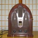 アンティークAM/FMラジオ、GE社製