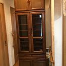 食器棚(無料、背高)