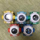 仮面ライダーゴースト アイコン5種