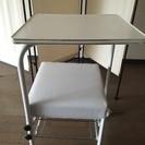 ネイルサロンにて一年使用したサイドテーブル。美品