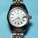 BRATERです。シンプルなデザインのレディース腕時計です。電池交...
