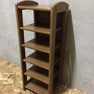 6段木製ラック