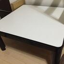 こたつテーブル(天板難あり)あげます