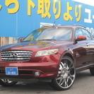 米国インフィニティ FX 35 4WD 社外HDDナビ サンルー...