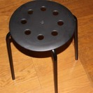 IKEA椅子10脚セット 黒