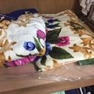 (毛布2枚)使用頻度少なく綺麗です。