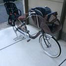 商談中 子供乗せ 自転車 3人乗り
