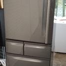 2007年 東芝 401L 冷凍冷蔵庫 自動製氷機能付き