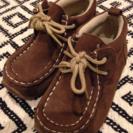 【商談中】茶色靴14cm