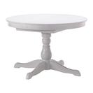 北欧風 丸型ダイニングテーブル ホワイト サイズ変更可能