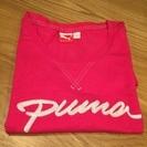 プーマ 刺繍 半袖Tシャツ