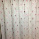 かわいい遮光カーテン2枚