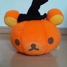 リラックマ ハロウィンかぼちゃぬいぐるみ