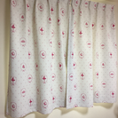 かわいい遮光カーテン2枚 小